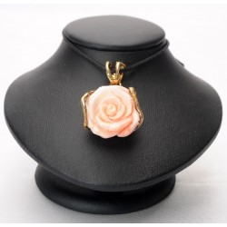 Ciondolo  corallo rosa