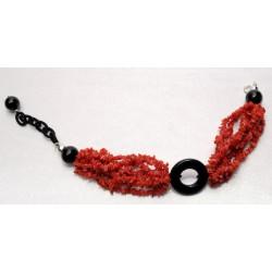 Bracciale  corallo rosso
